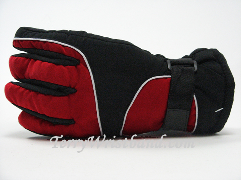 winter gloves with palm grip patch