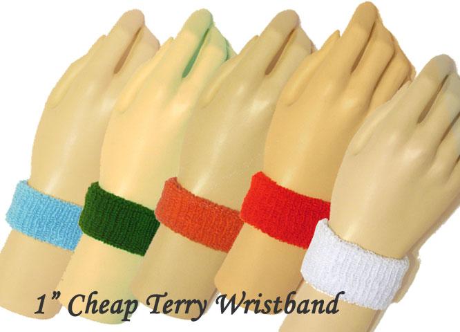 1inch cheap wristbands