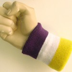 purple_white_bright_yellow_terry_wristband_sweatband