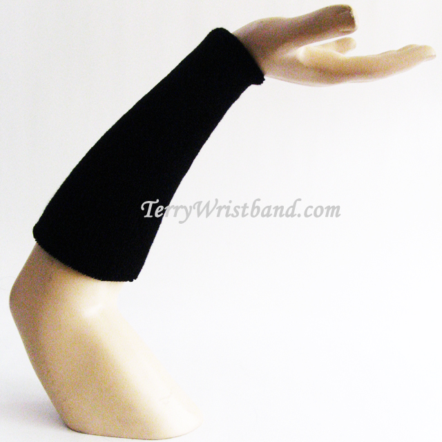 9inch Long Sport Terry Wristband