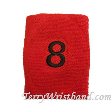 custom embroidery sweatband WB104
