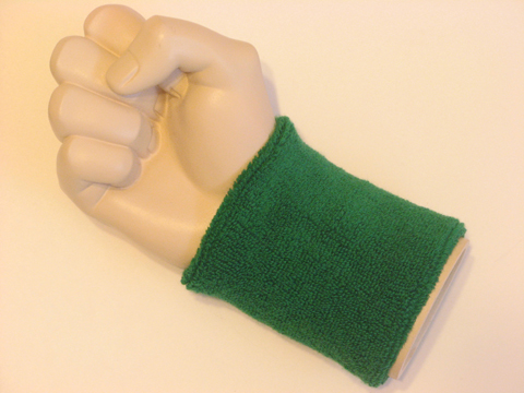 Green wristband sweatband for sports 52bf129af7b