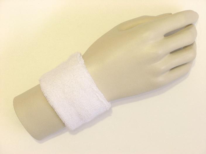 China manufacturer custom sweatband wristband unisex sports terry cloth  sweatband, custom embroidered wristbands